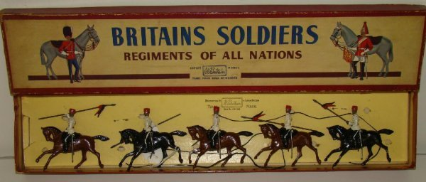 11: BRITAINS #115 BOXED.