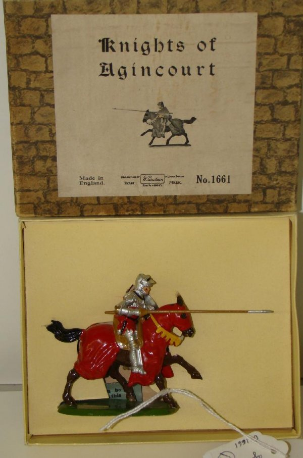 13: BRITAINS. 1661 BOXED.