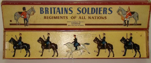 18: BRITAINS. #190 BOXED.