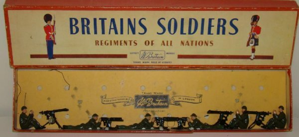 20: BRITAINS. #1318 BOXED.