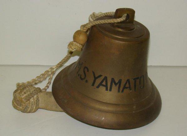 1002: BRASS BELL M.S. YAMATO MARU.