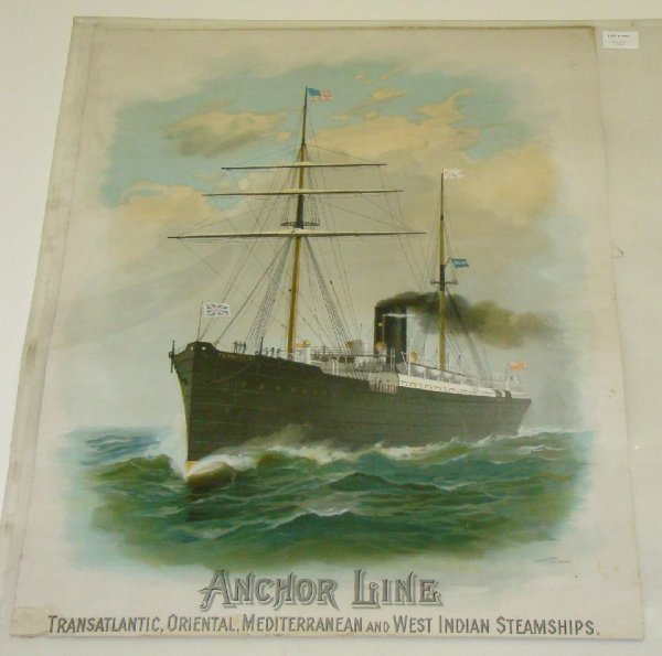1011: ANCHOR LINE POSTER.