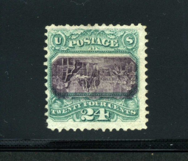 2003: 24 CENT 1869 INVERTED CENTER UNUSED NO GUM,