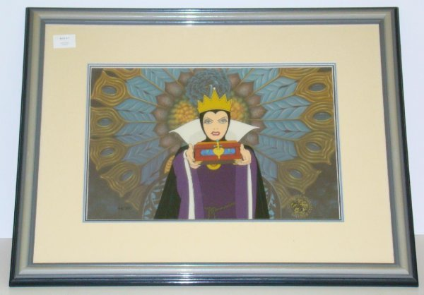 7: DISNEY. LIMITED EDITION CEL. EVIL QUEEN.
