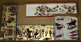 261 BOX LOT MISC SOLDIERS