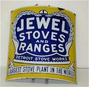 309: JEWEL STOVES & RANGES PORCELAIN SIGN