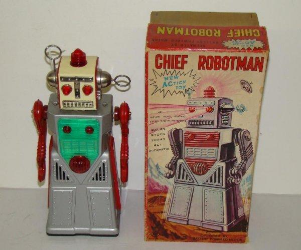 1003: CHIEF ROBOTMAN. JAPAN. BOXED.