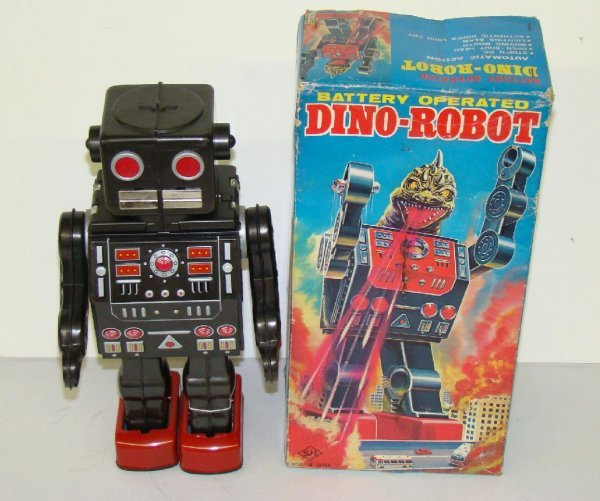 1004: DINO ROBOT. JAPAN. BOXED.