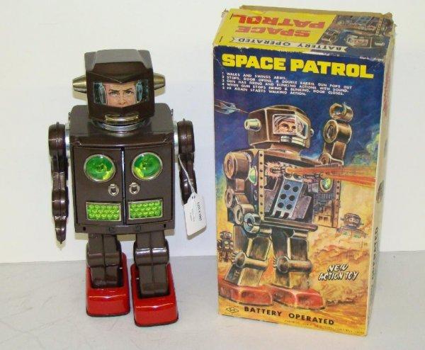 1005: SPACE PATROL. JAPAN. BOXED.