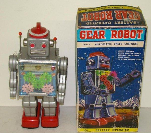 1006: GEAR ROBOT. JAPAN. BOXED.