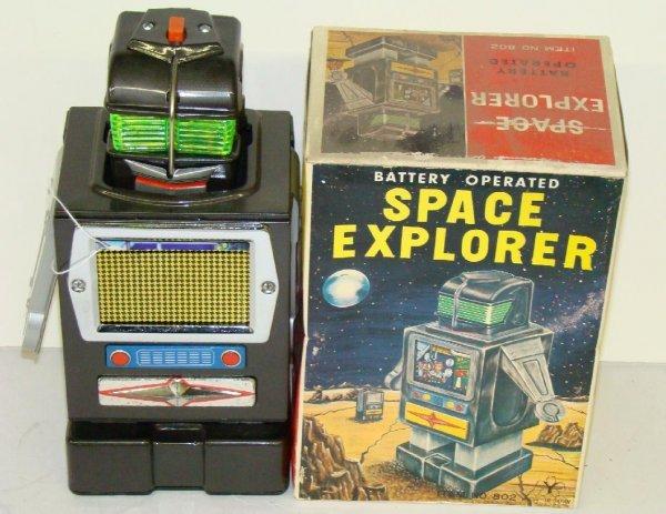 1008: SPACE EXPLORER. JAPAN. BOXED.