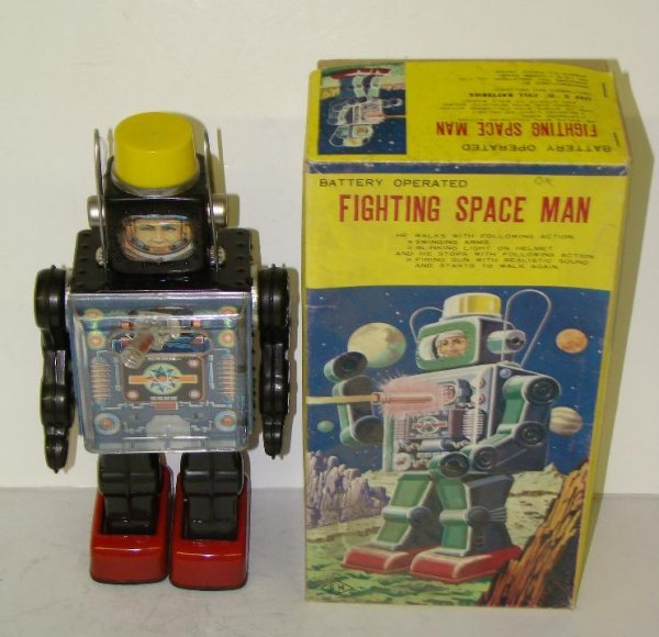 1009: FIGHTING SPACE MAN. JAPAN. BOXED.