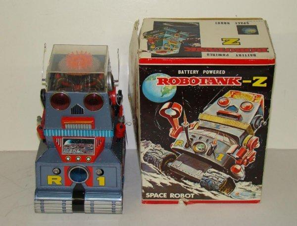 1014: ROBOTANK-Z. JAPAN. BOXED.