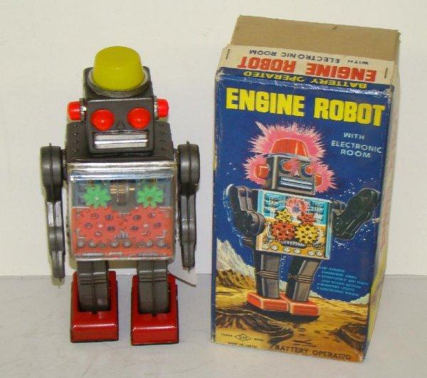1021: ENGINE ROBOT. JAPAN. BOXED.