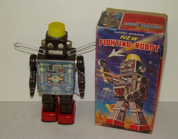 1022: NEW FIGHTING ROBOT. JAPAN. BOXED
