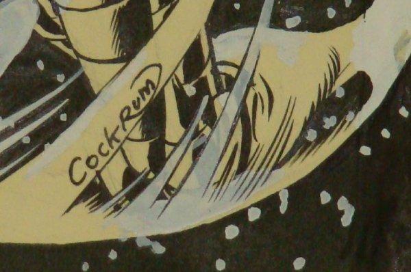 2304: DAVE COCKRUM X-MEN COVER. ORIGINAL ART. - 5