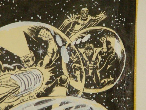 2304: DAVE COCKRUM X-MEN COVER. ORIGINAL ART. - 6