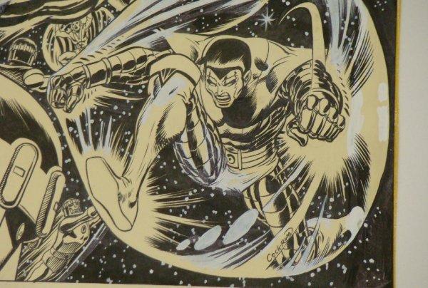 2304: DAVE COCKRUM X-MEN COVER. ORIGINAL ART. - 7