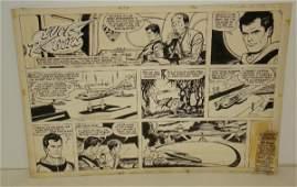 2361A: 1962 BUCK ROGERS SUNDAY COMIC PAGE. TUSKA