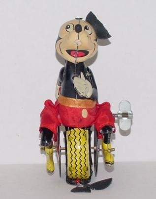 16: LINE MAR MICKEY MOUSE UNICYCLIST