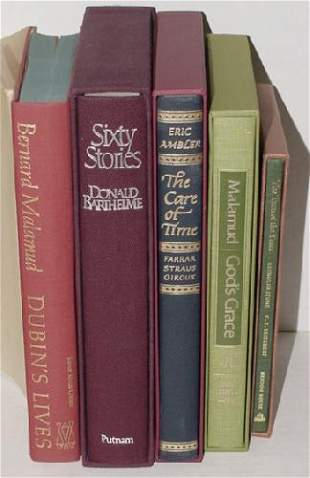 LOT OF 5 LIMITED EDITION BOOKS