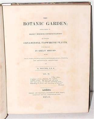 THE BOTANIC GARDEN VOL 2, B. MAUND