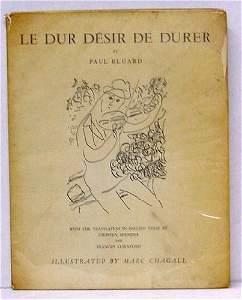 1013: PAUL ELUARD, LE DUR DESIR DE DURER