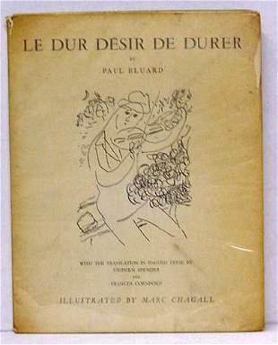 PAUL ELUARD, LE DUR DESIR DE DURER