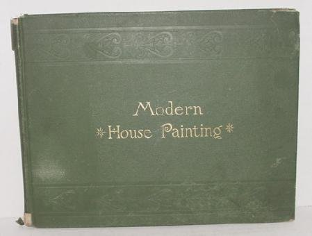 1015: ROSSITER WRIGHT MODERN HOUSE PAINTING