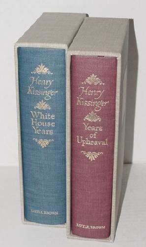 HENRY KISSINGER 2 VOLUME SET