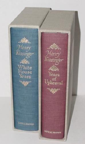 1022: HENRY KISSINGER 2 VOLUME SET