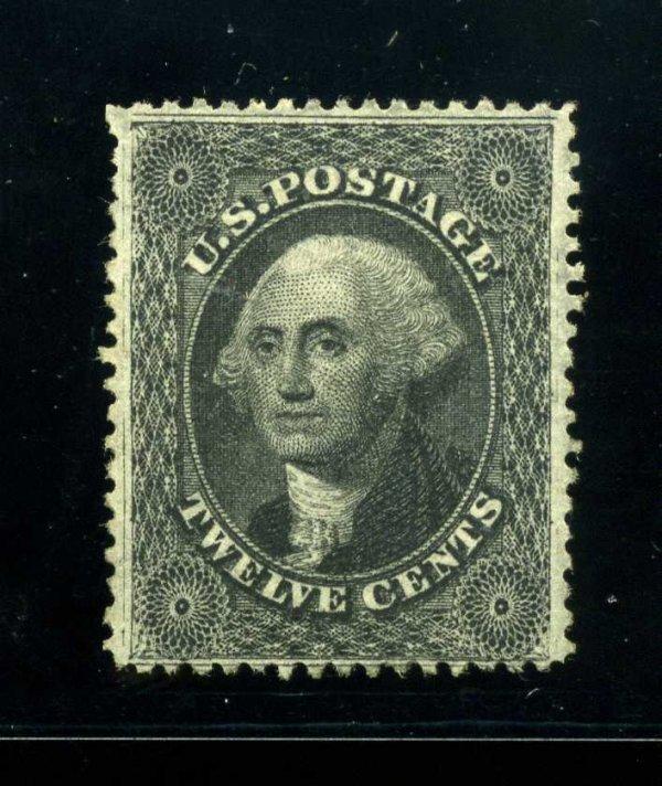 2: 12c 1860 Plate 3, RG, Scott 36b