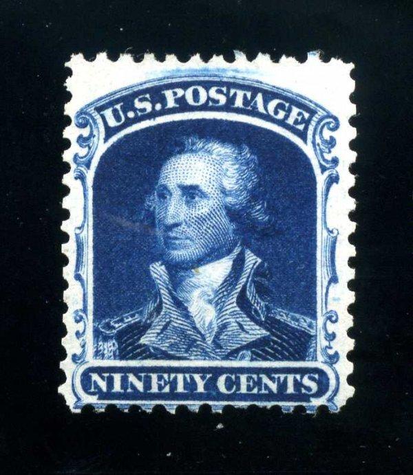 11: 90c 1857 Reprint, Scott 47