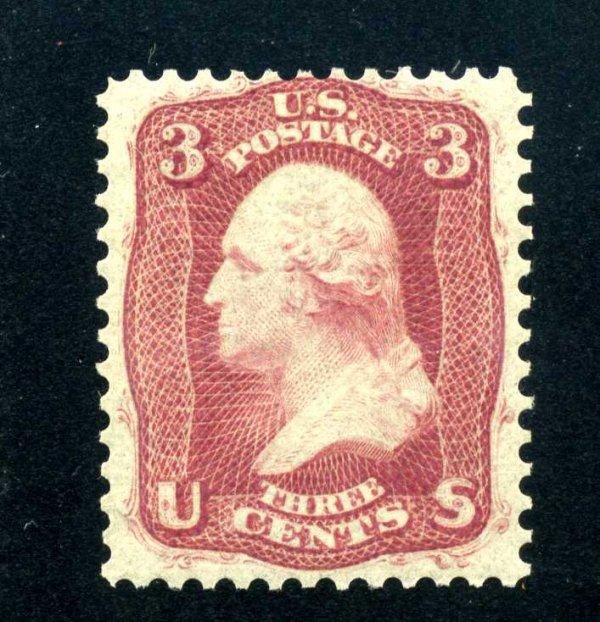 13: 3c 1861 First Design, OG, Scott 56 (65-E15h)