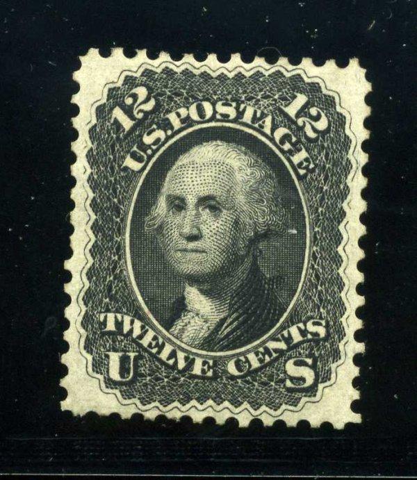 14A: 12c 1861 First Design, OG, Scott 59 (60-E6e)