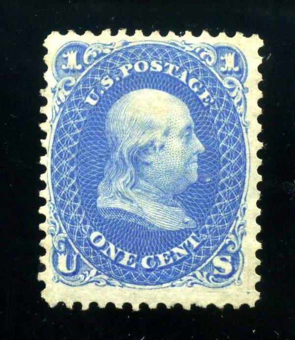 21: 1c 1861 Reissue, NG, Scott 102