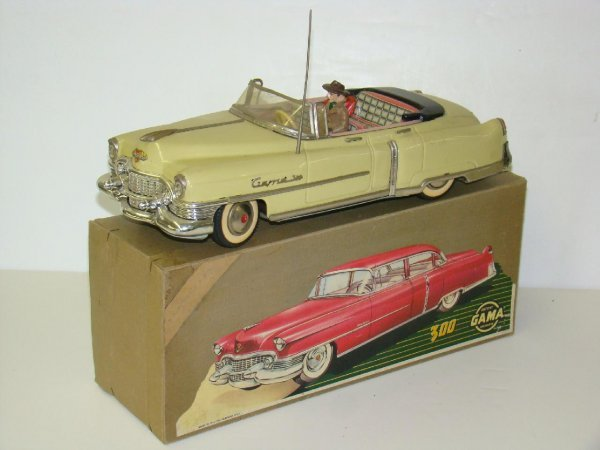1153: Nr/Mt in Box 1950's Gama Cadillac Convertible