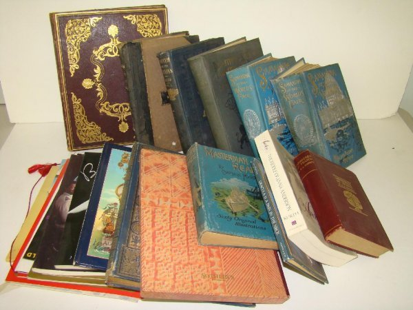 2020: MISC. VINTAGE BOOK LOT. SHIP RELATED