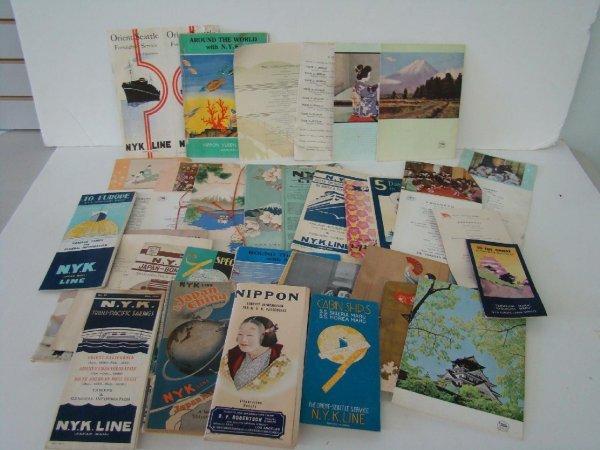 2024: OCEAN LINER PAPER LOT - NYK LINE