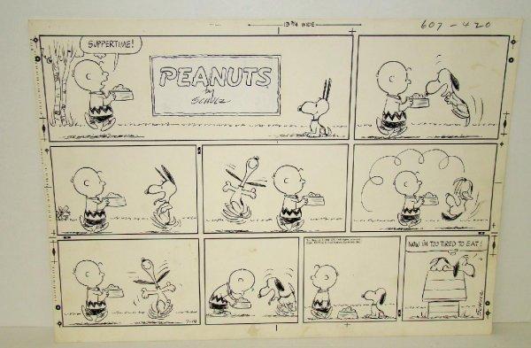 2246: CHARLES SCHULZ. PEANUTS. SUNDAY 1963