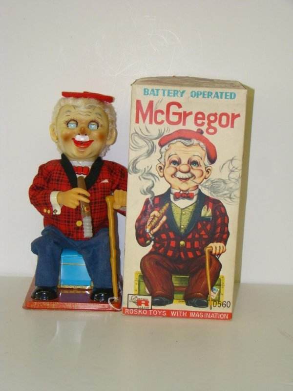 5: BOXED ROSKO BATTERY OPERATED McGREGOR