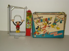 10: BOXED LINEMAR DISNEY MICKEY ACROBAT