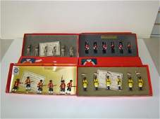 715: LOT OF 4 TRADITION TOY SOLDIER SETS