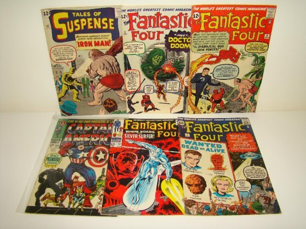 1015: MARVEL COMIC LOT. SILVER AGE.