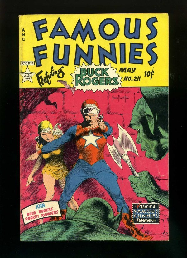 1016: FAMOUS FUNNIES #211