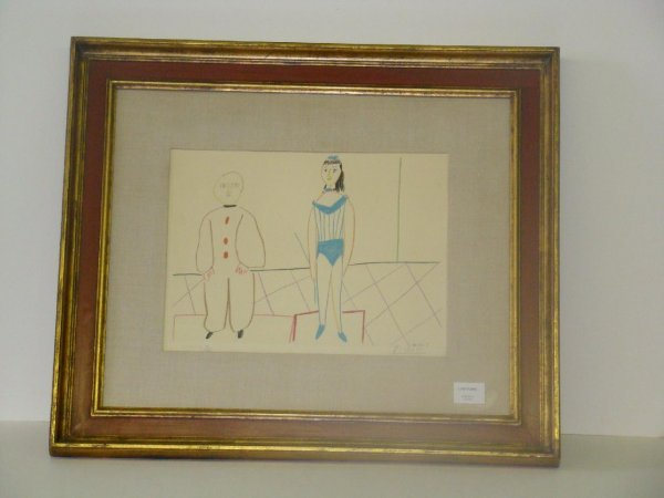 2001: HAND SIGNED PICASSO LIMITED ED. LITHO
