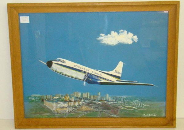 3022: SOUTHERN AIRWAYS PAINTING.