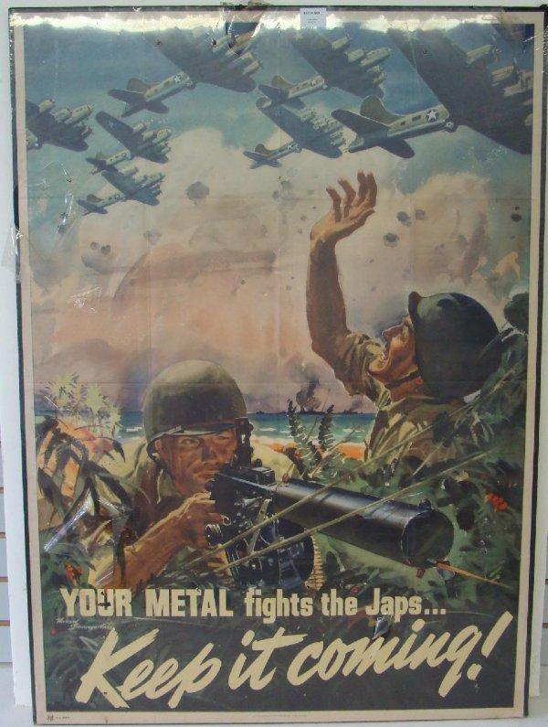 3023: WORLD WAR TWO AVIATION POSTER.