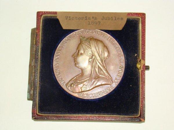 4005: 1897 VICTORIA JUBILEE MEDAL