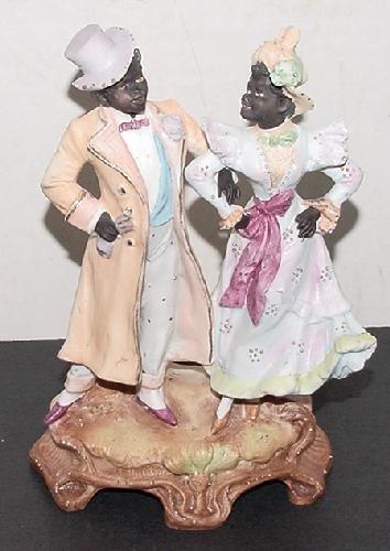 19: BISQUE BLACK COUPLE. GERMANY